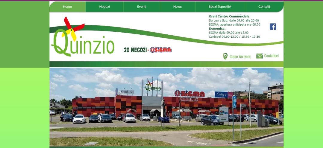Centro commerciale quinzio reggio emilia for Negozi arredamento reggio emilia