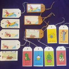 GIFT TAGS - Any 10 for £2.50