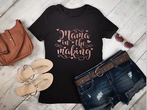 Mama Pregnancy T-Shirt / New Mum T-shirt