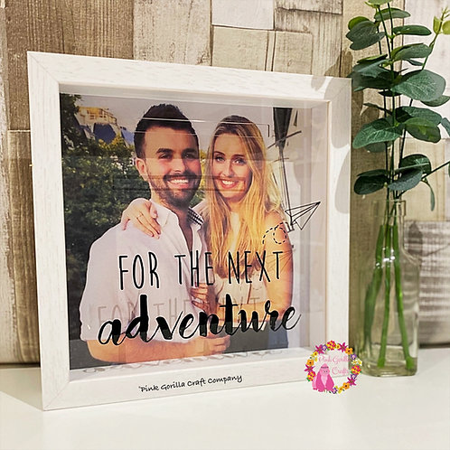 Personalised Money Box Saving frame
