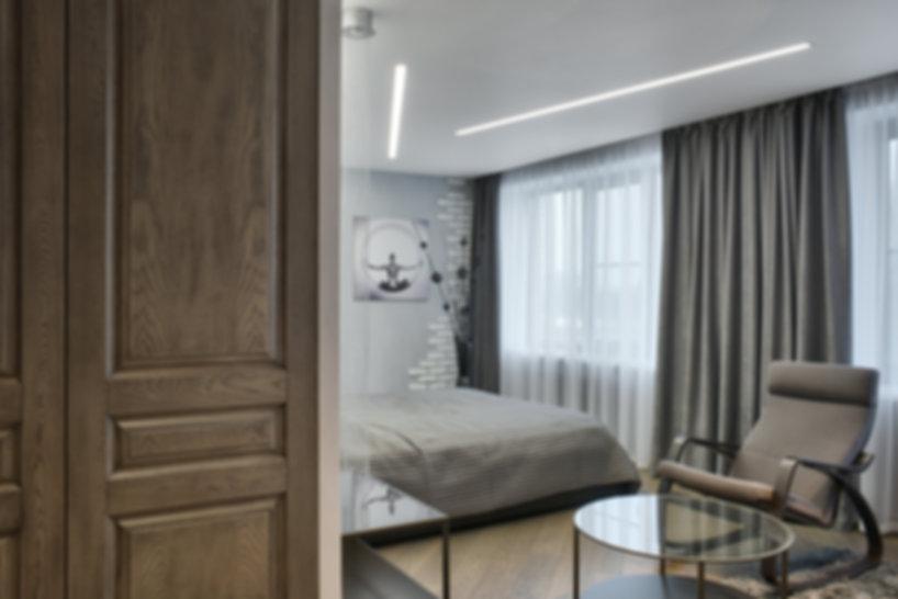 """Межкомнатные двери, выполнены по модели мебельного фасада """"Альпари"""""""