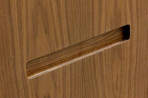 Фасад с врезной ручкой