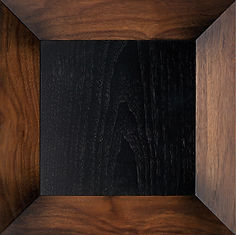 Мебельный фасад трапецевидной формы. Шпон орех