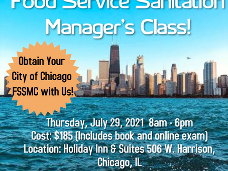 Our Downtown Chicago Class Is Coming Soon! Register Today!