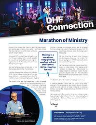 DHF Newsletter - Spring 2021 (thumbnail)