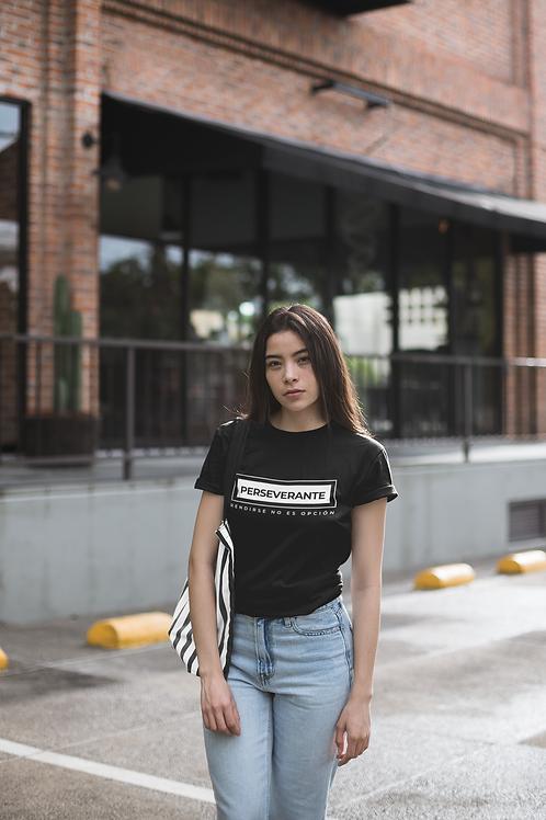 Camisetas con Propósito - Perseverante