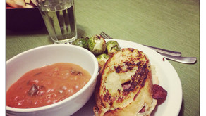 Grown-up Grilled Cheese and Tomato Soup (Corn-free and Gluten-free)