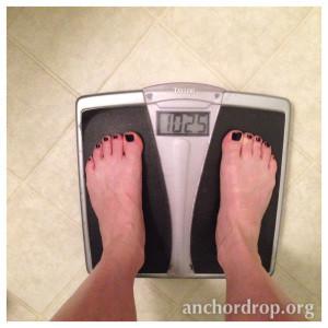 """Week 2: height 4'8""""; weight 102.5"""