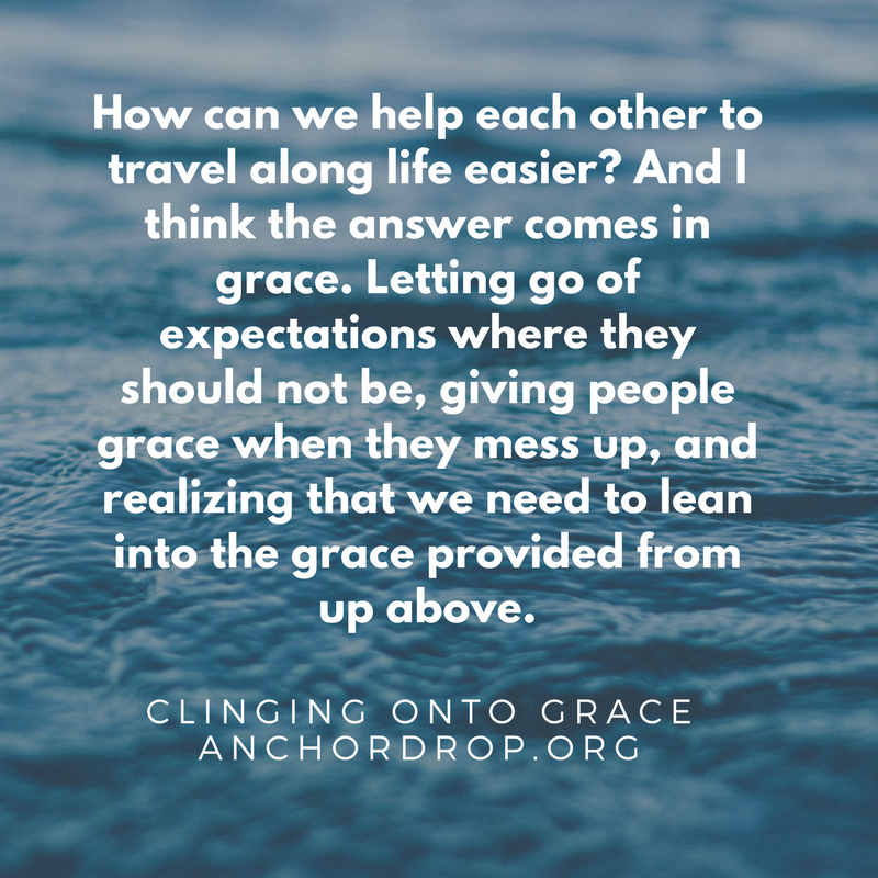Quote: grace helps each other travel through life easier