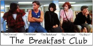Cast of the movie the breakfast club