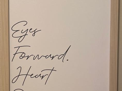 Eyes Forward - Heart Open