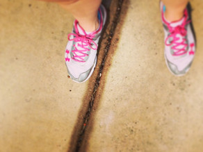I hate running…. wait I'm not supposed to say that