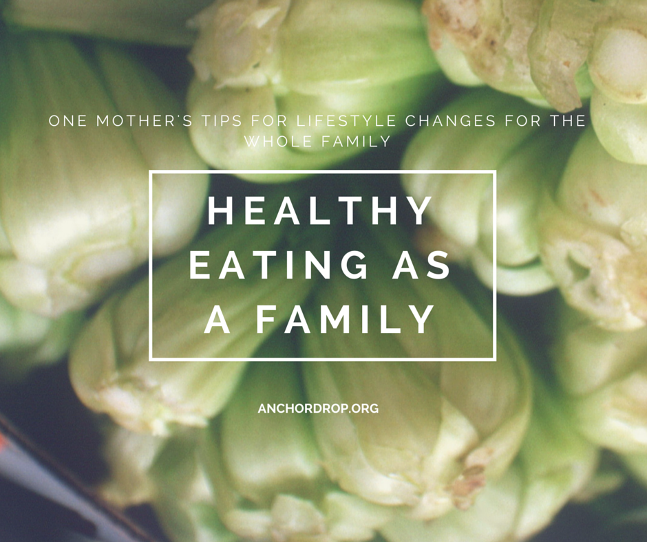 Healthy eating as a family