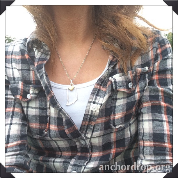 girl in plaid