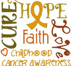 Raising Awareness Month: Pediatric Cancer Awareness