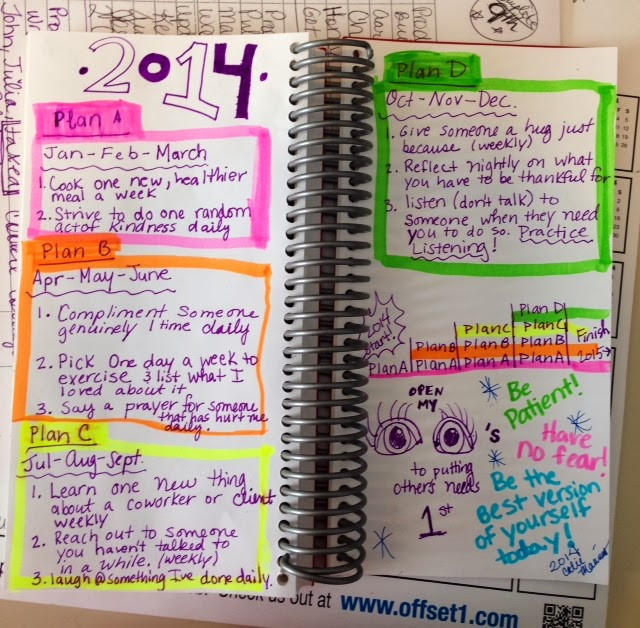 busy personal planner