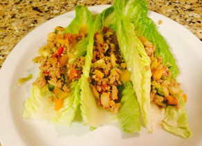 Mock P.F. Chang's Lettuce Wraps