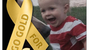 Why childhood cancer awareness month matters…