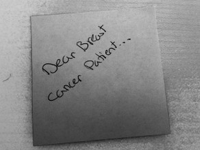 Dear Breast Cancer Patient