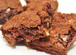 Healthier Brownies for a Lazy Sunday