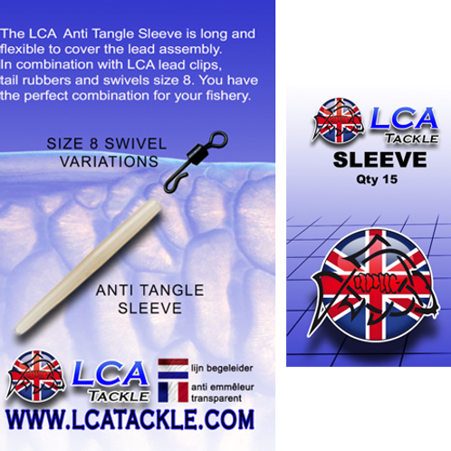 LCA Anti tangle sleeve marron