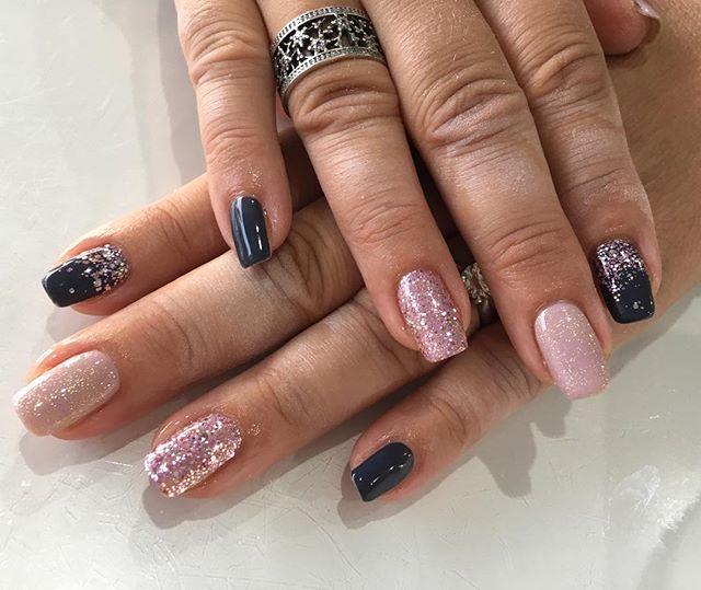 Nailing it with this combo #nails #naila
