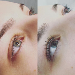 Lash Lift & Tint  These results will las