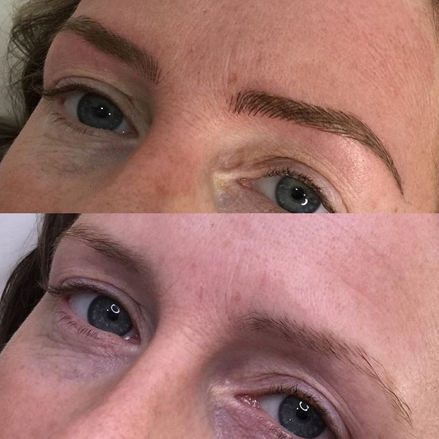 Beautiful set of Brows for my client usi