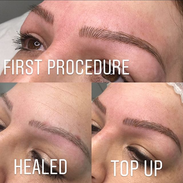 Microblading  Was great having this beau