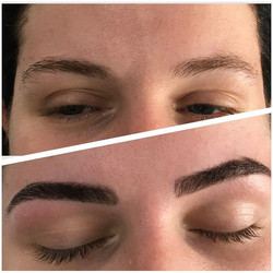Wax & Tint__#brows #browshaping #browsty