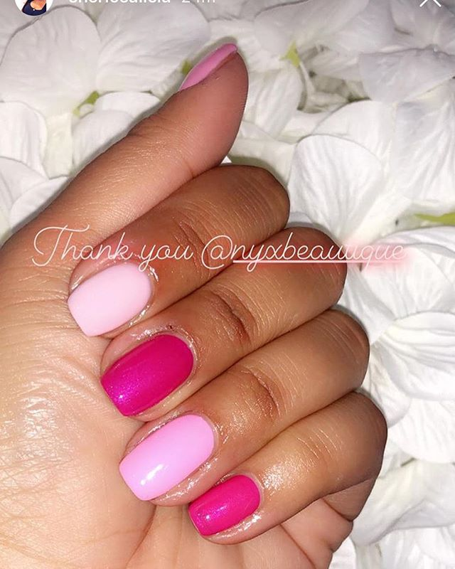 Loved doing these yesterday #pink #pinkn