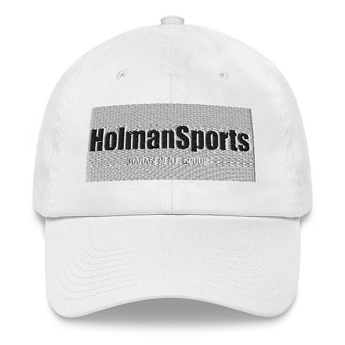 Holman Sports - White Dad hat