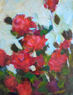Cedeno_Painting_Roses_9x12_2017July