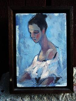 MikeCedeno-oil-Woman_1980s