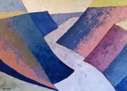 2017-12 Paysage Abstrait Michel Buchet