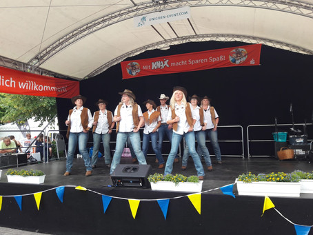 Auftritt Rathausfest Rhauderfehn