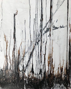 Black and White - 76x61cm - Acrylic on canvas
