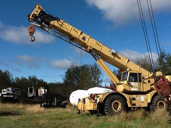 G. Lorentson Crane Rentals in Thunder Bay Ontario (Northwestern Ontario) - Rough Terrain Crane