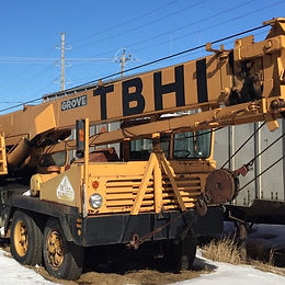 G. Lorentson Crane Rentals in Thunder Bay Ontario (Northwestern Ontario)