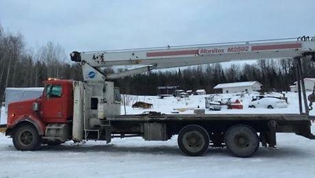 G. Lorentson Crane Rentals in Thunder Bay Ontario (Northwestern Ontario) - Boom Truck