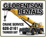 G. Lorentson Crane Rentals; Thunder Bay Crane Rental