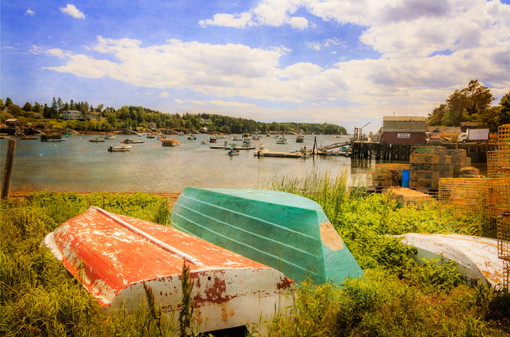 Mackerel Cove Dory And Dinghy