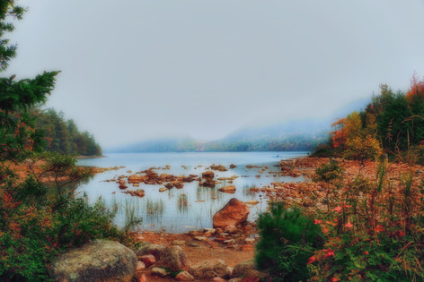Foggy Jordan Pond