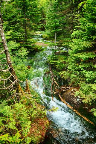 Meandering Waterfall