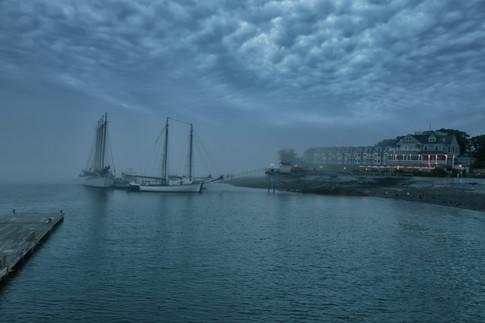 Stormy Bar Harbor Night