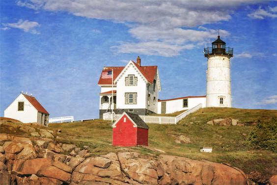 Magnificent Nubble Lighthouse