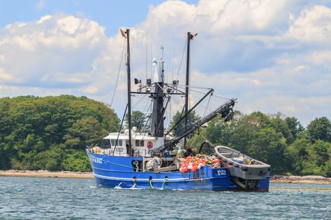Ruth And Pat Deep Sea Fishing Vessel