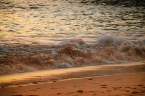 Golden Sand Beach Shore