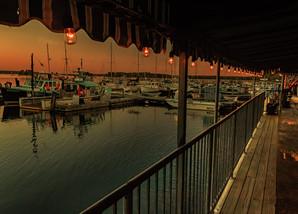 Evening At Harraseeket Lobster Pound