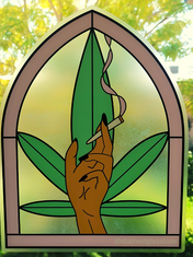Smoking Hand Large Stickers (2).png